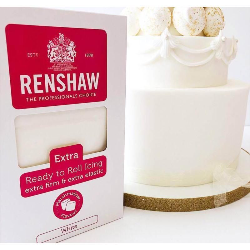 Fondant Renshaw 1kg EXTRA blanco MARSHMALLOW