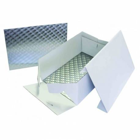 Caja rectangular 25cm x 35cm con Base fina