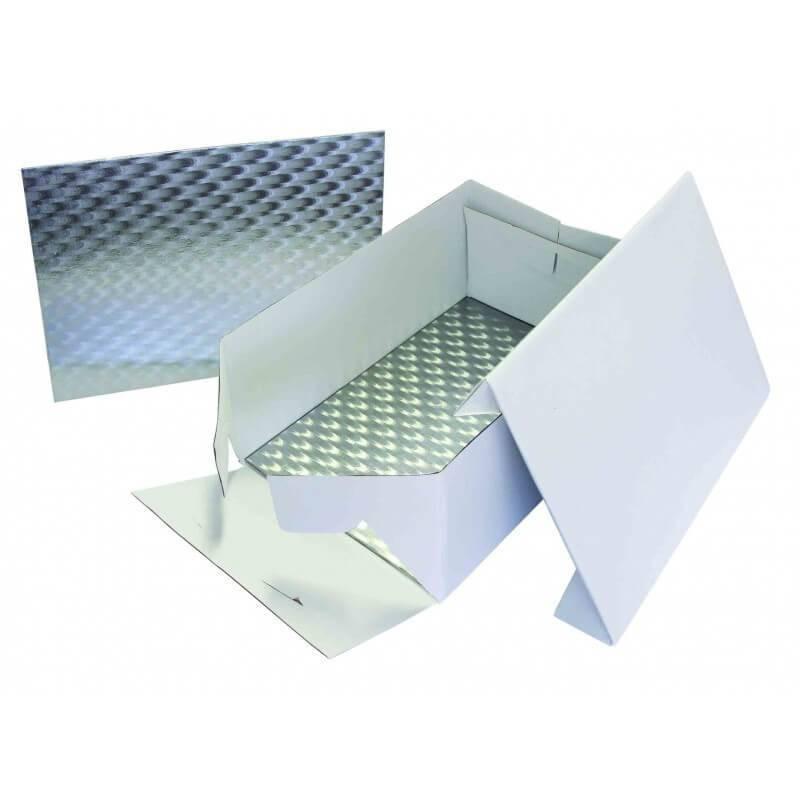 Rectangular box 25cm x 35cm with thin tray