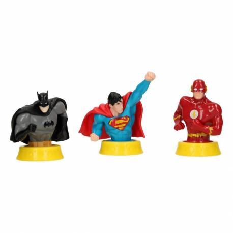 Set de 3 Figuras de la Liga de la Justicia