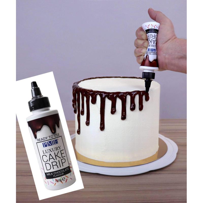 Escarcha de chocolate con leche para Drip Cake 150 g