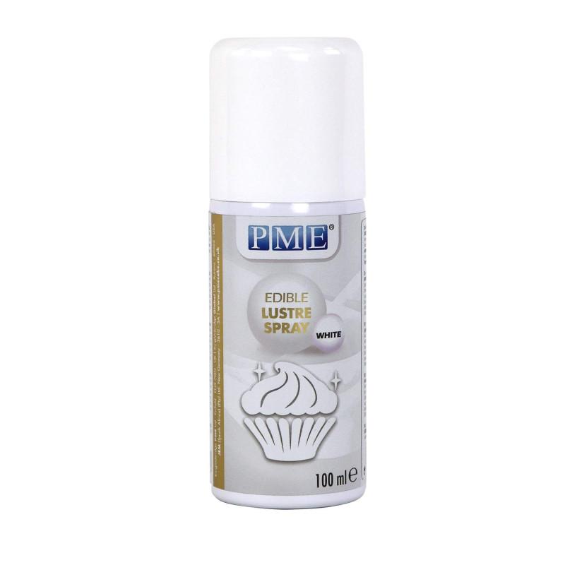 100ml snow WHITE glossy food spray