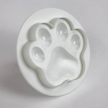 Set of 3 dog paw print cookie cutters PME
