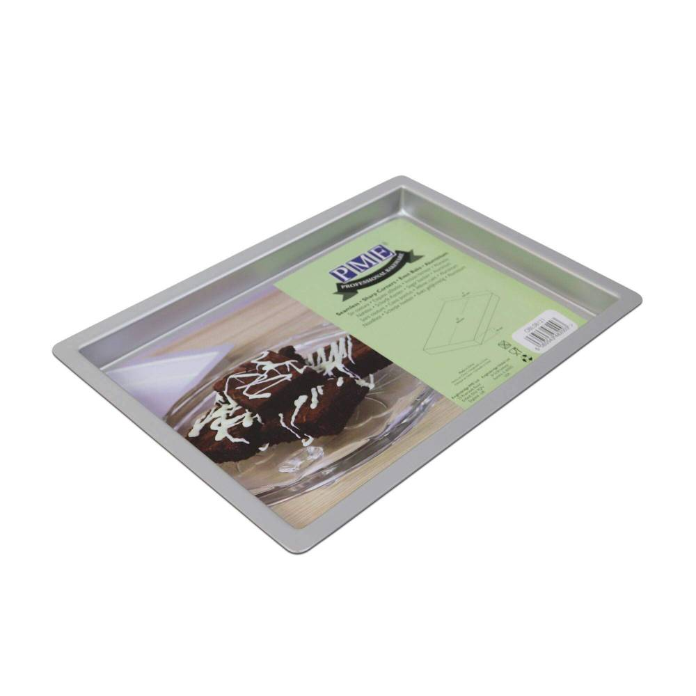 Large Baking Pan For Brownies 20x30 Cm Pme Planete Gateau