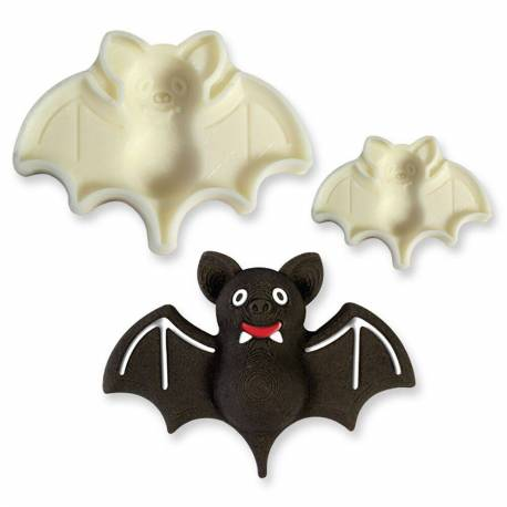 Set of 2 3D cutter Bats Mouse