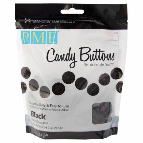 Candy Buttons Noirs
