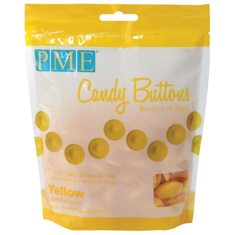 Candy Melt Buttons Jaune 340g