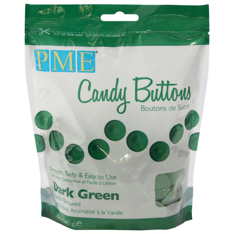 Candy Melt Buttons Dark Green 340g