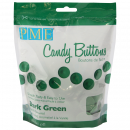 Candy Melt Dark Green Buttons 340g
