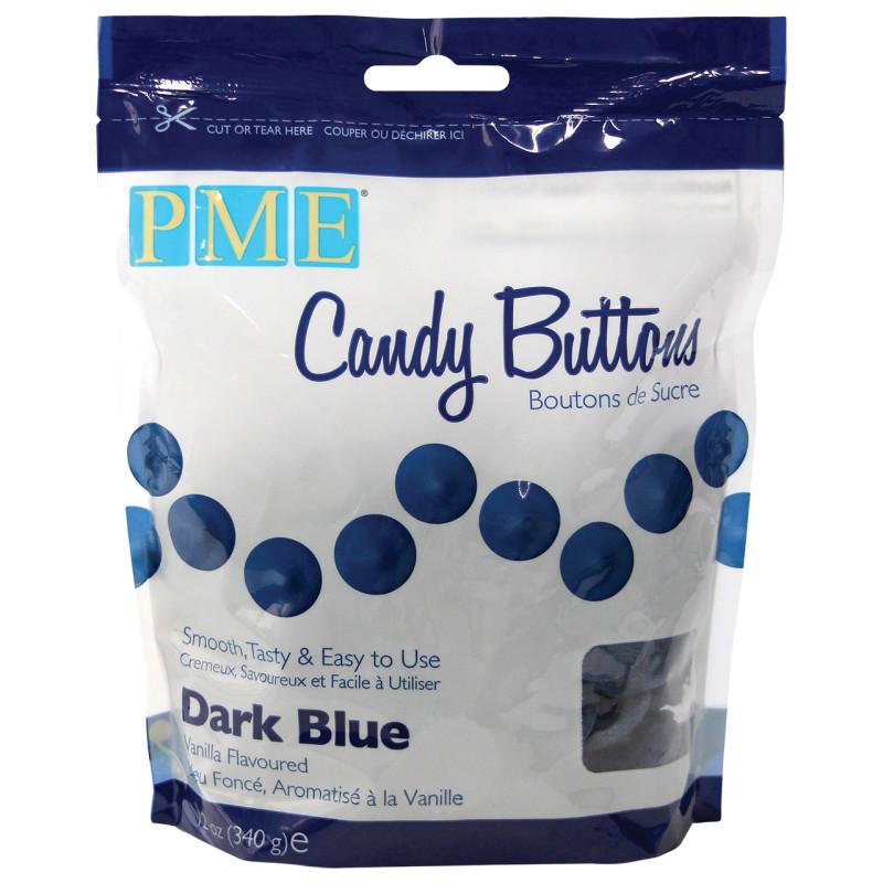 Candy Melt Buttons Navy Blue 340g