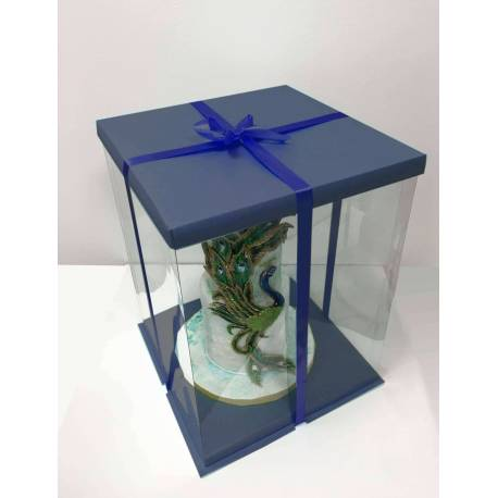 Expo Cake Box sea Blue (30x30x40cm)