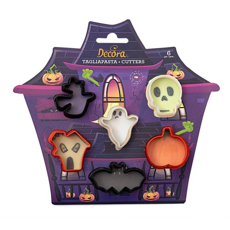 Emporte pièce Halloween - 6 formes