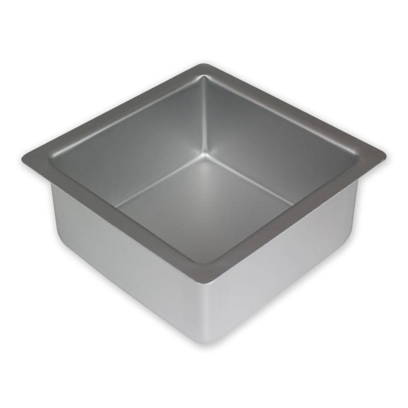 Molde cocción cuadrado PME de 25x10cm