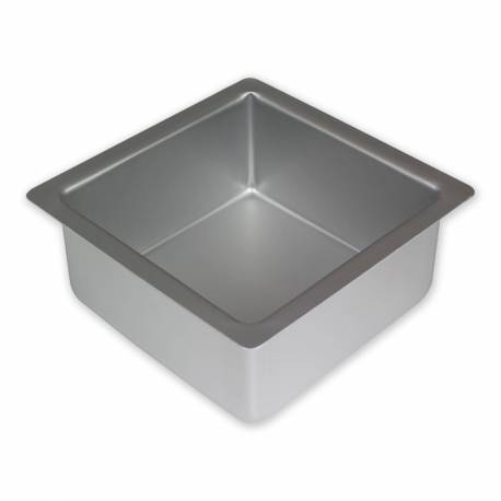 Square cake pan PME 25 cm on 10 cm high