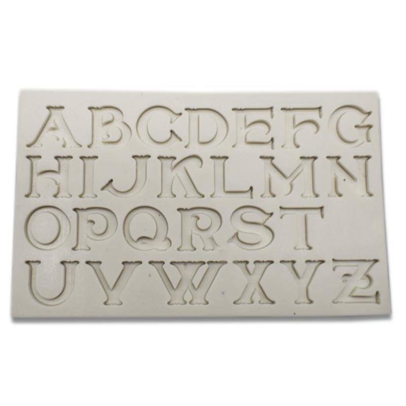 Moule en silicone Alphabet Chic
