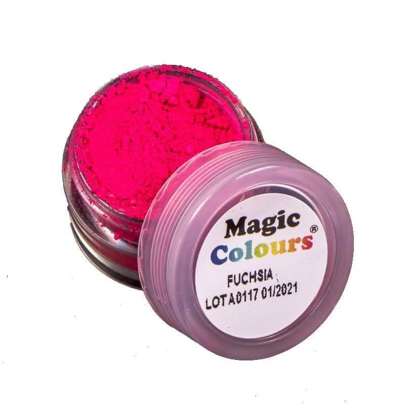 Colorante alimentario en polvo rosa Fucsia MAGIC COLOURS