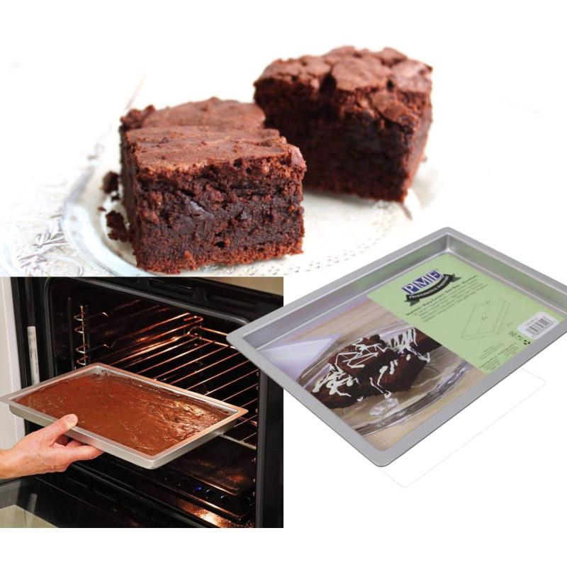 Grand moule plat à cuisson pour Brownies 20x30 cm PME