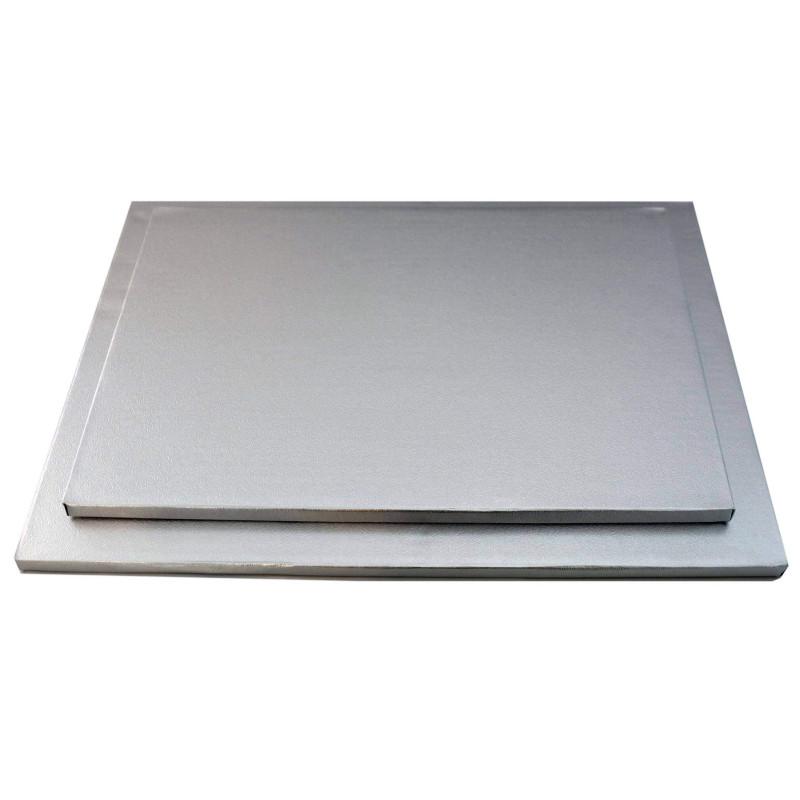 Plateau épais pour gâteaux Rectangulaire 12mm