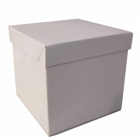 Square rigid cake box 25cm height 25cm