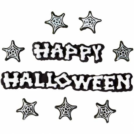 HAPPY HALLOWEEN Sugar Decoration Set