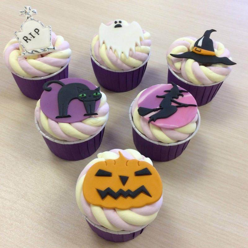 Set de 6 perforadoras de Halloween FMM