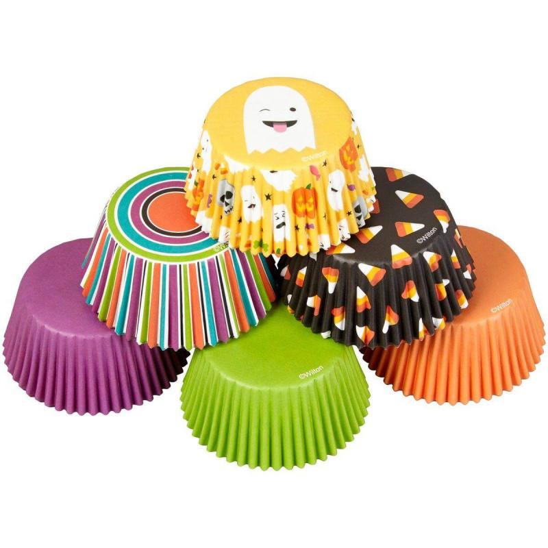 Set of 150 Halloween Cupcakes Boxes Wilton