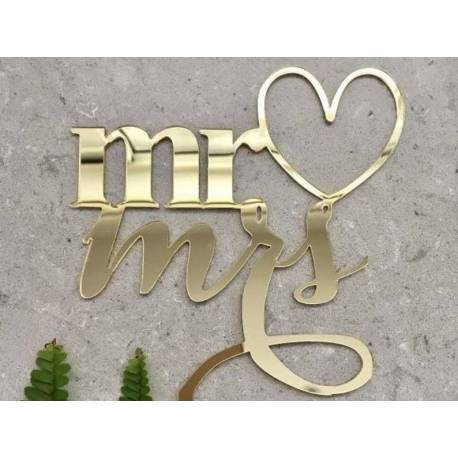 Topper MR and MRS GOLD color Mirror