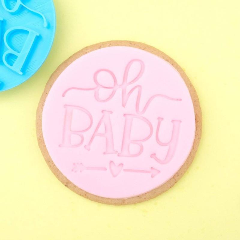 Oh Baby Sweet Stamp estampadora de galletas en relieve