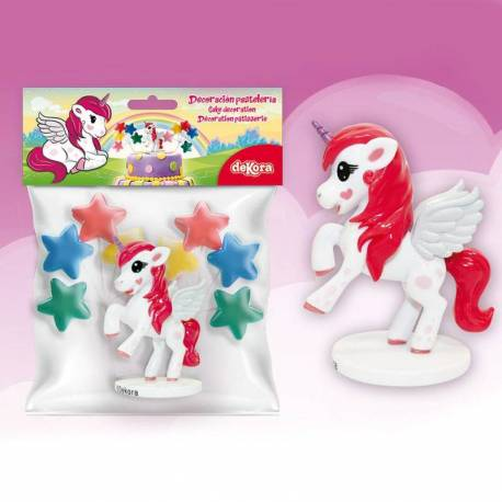 Unicorn cake decoration kit