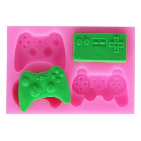 Silicone mold Video game controllers