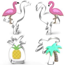 Set de 4 emporte-pièces Tropical