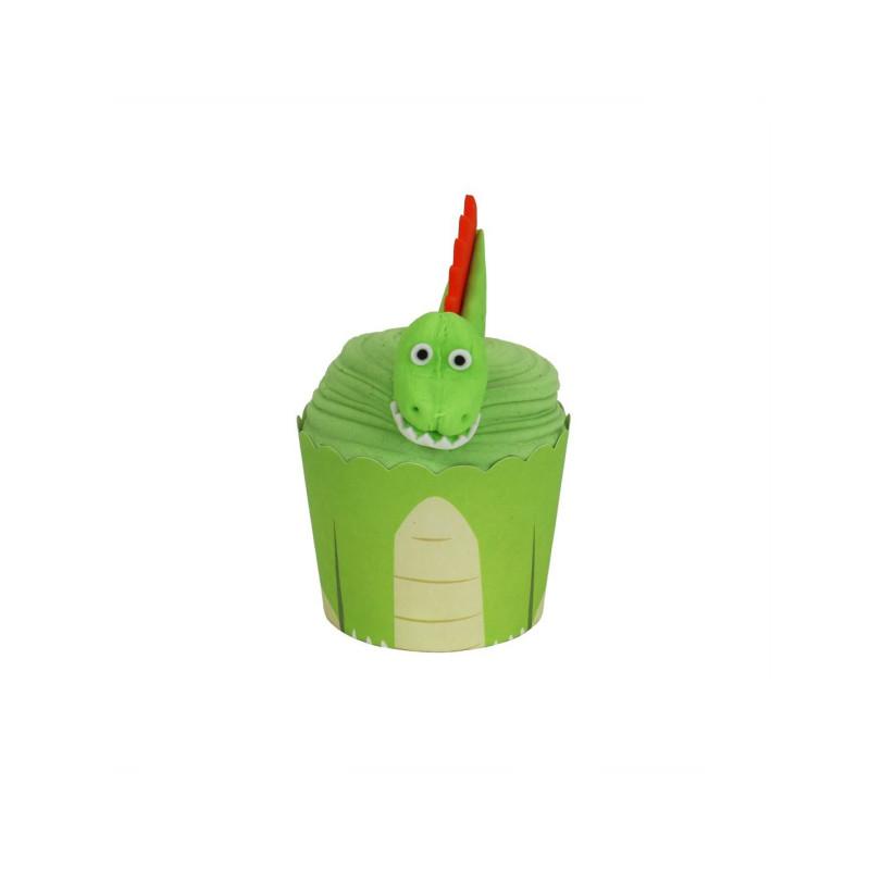 Dinosaur cupcakes kit PME