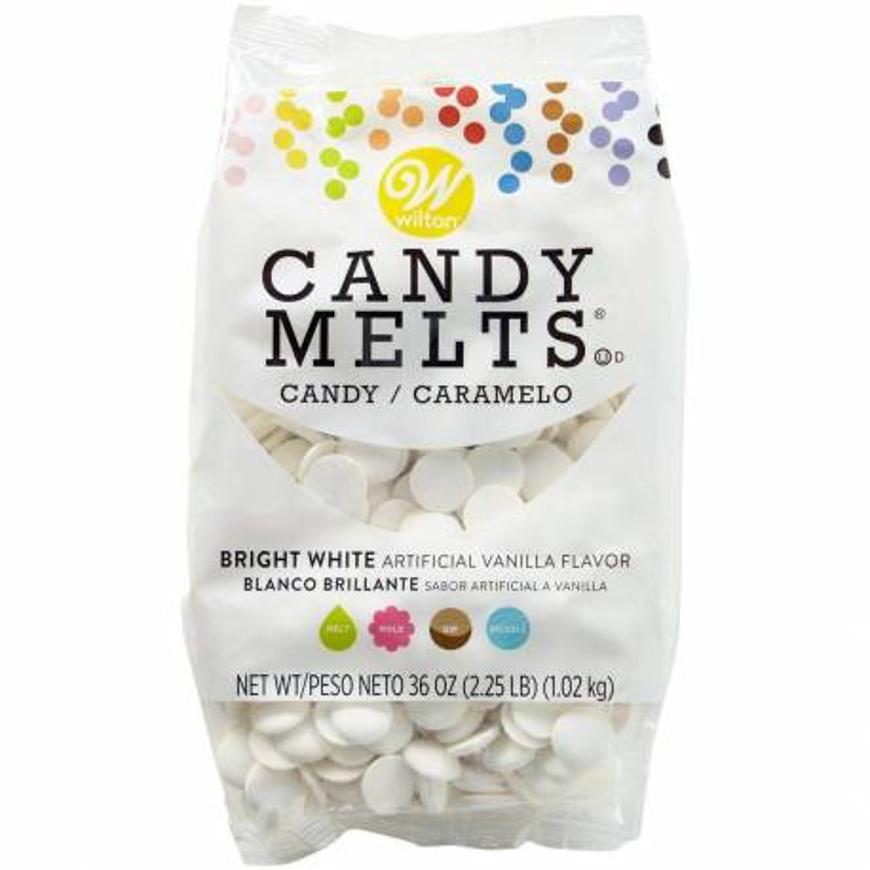 Caramelo fundido blanco brillante 1 kg Wilton