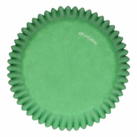 Set of 48 green cupcake boxes Funcakes