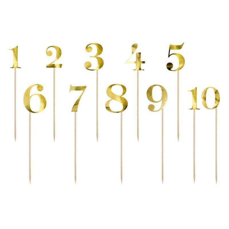Topper Gold cardboard figures