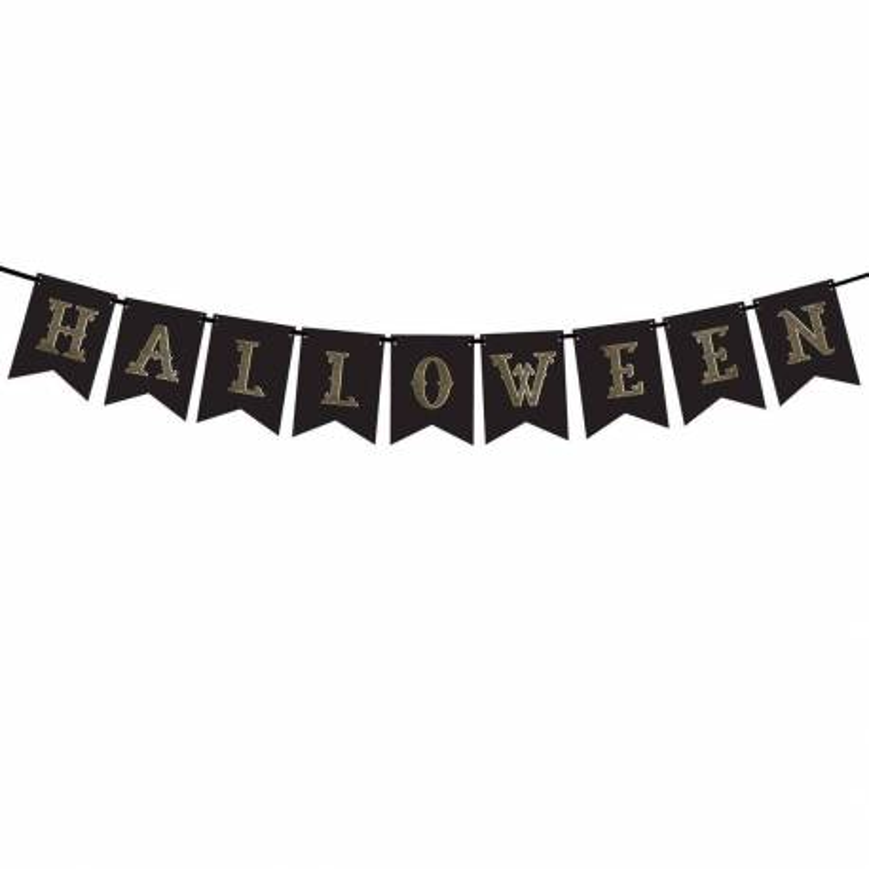 Grande Banderolle fête Halloween 1.80m