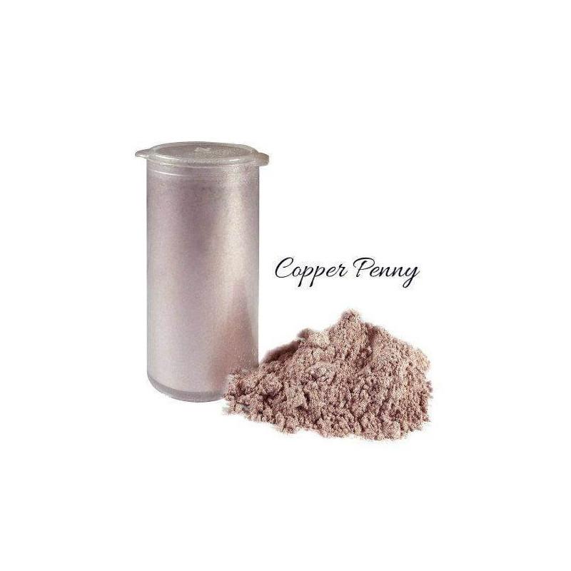 Tinte en polvo de brillo de cobre