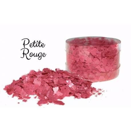 Edible flakes Red