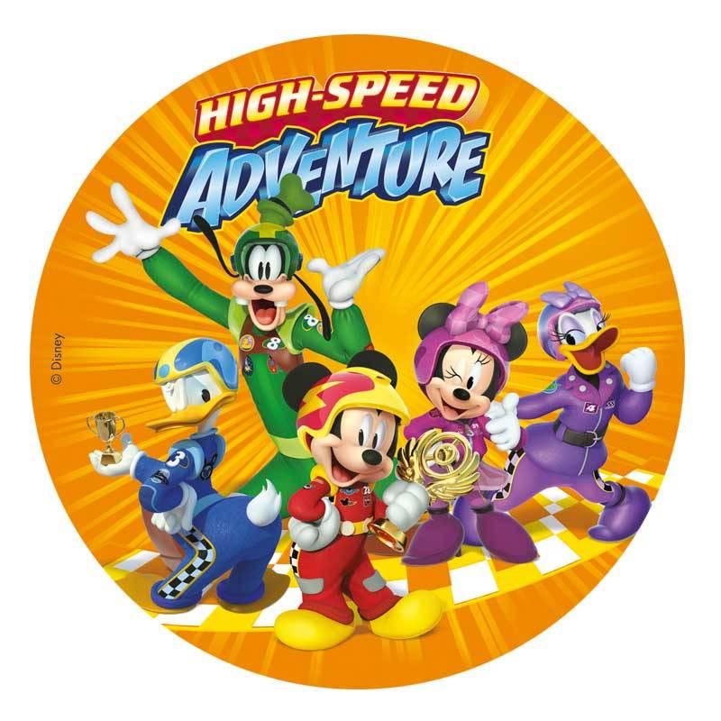 Disque en Azyme Mickey et ses amis rally 20 cm