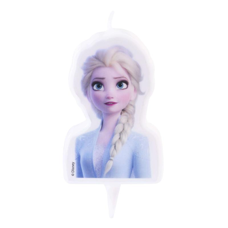 Bougie Elsa La reine des Neiges 2 en 2D