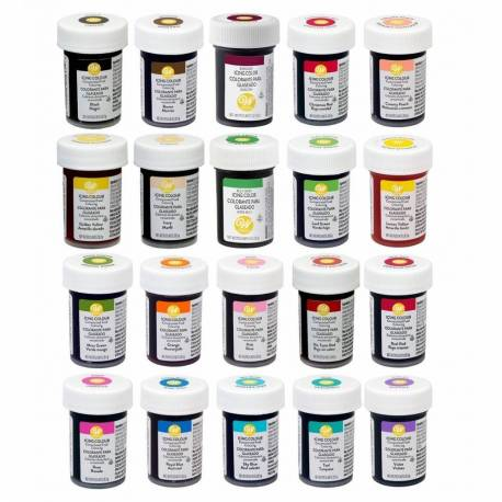 Food gel colouring agent Wilton