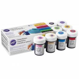 Kit de 8 colorants en gel Wilton