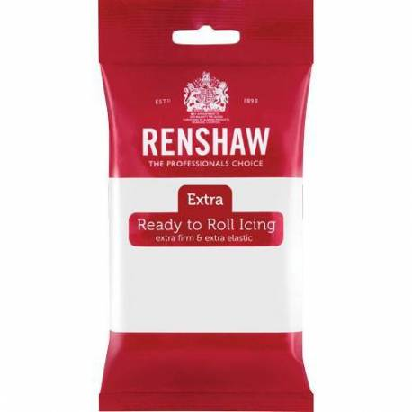 Renshaw Sugar Paste EXTRA WHITE 250g