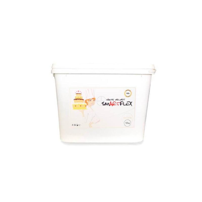 Pasta de azúcar SMARTFLEX WHITE Vainilla 10 kg
