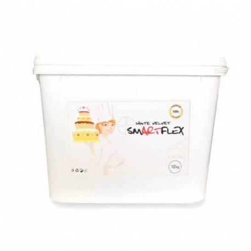 Sugar paste SMARTFLEX WHITE Vanilla 10 kg