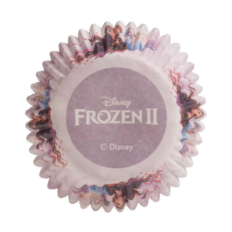 Set de 25 caissettes à cupcakes La reine des neiges 2