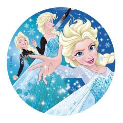 Disque comestible La reine des neiges