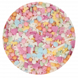 Sprinkles Licorne pastel Funcakes 50g