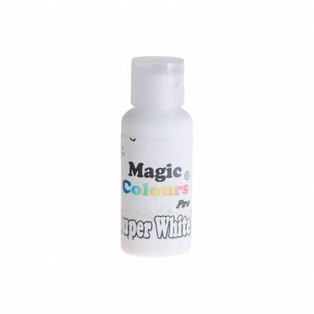 Concentrated GEL Colourant Super White MAGIC COLOURS