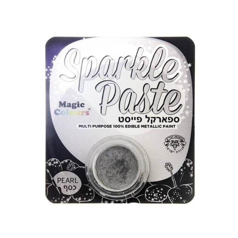 Sparkle Paste White Metallic Paint MAGIC COLOURS